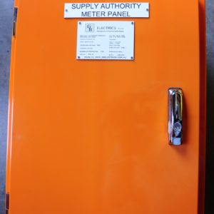 Supply Authority Meter Panel